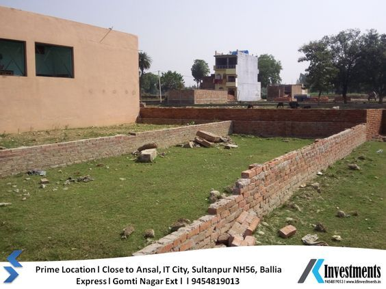 Plots in Lucknow on EMI Basis Sultanpur Road