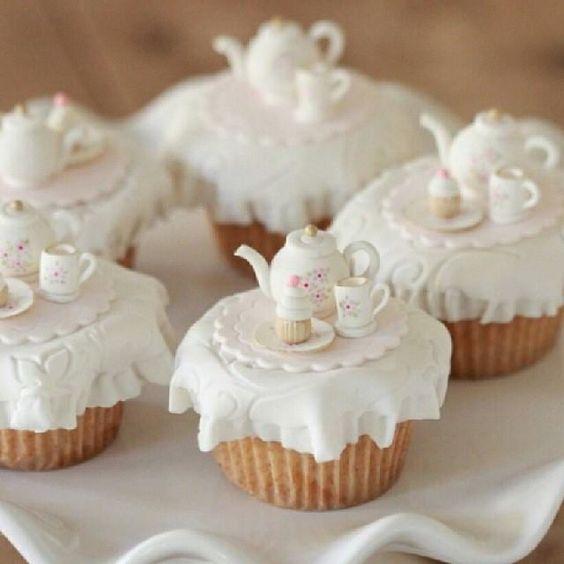 Preciosos estos cupcakes!