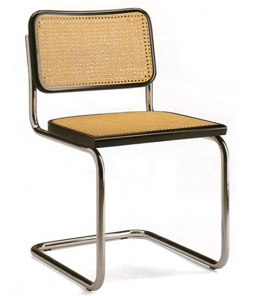 The Bauhaus Designers and Their Designs.  CANE CHAIR BY MARCEL BREUER.