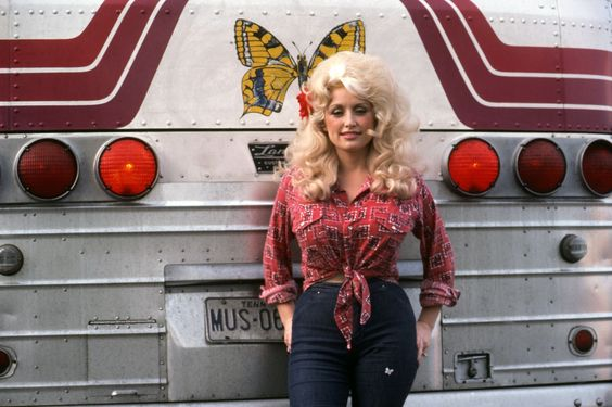 """Dolly Parton beautiful in the day - supposedly once said """"it costs a lot to look this cheap."""""""