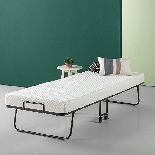 Shop For Zinus Roll Away Smart Guest Bed Frame 4 Inch Comfort Foam