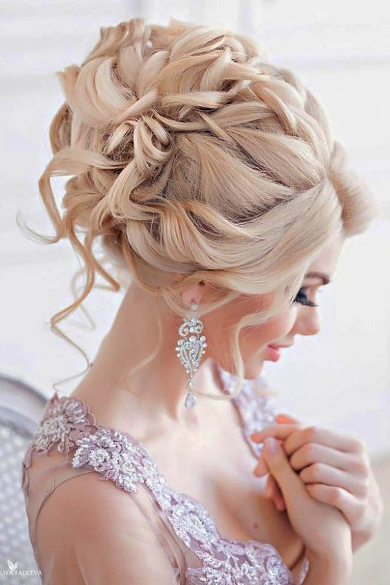 Creative And Unique Wedding Hairstyles ❤ See more: http://www.weddingforward.com/creative-unique-wedding-hairstyles/ #weddings: