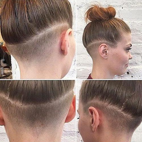 Pin Von Hairstyle For Girls Auf Men Undercut Undercut Frauen Lange Haare Kurzhaarfrisuren Undercut Lange Haare