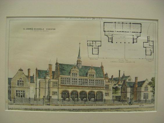 St. John's Schools, Chester, England, UK, 1888, E. R. Robson