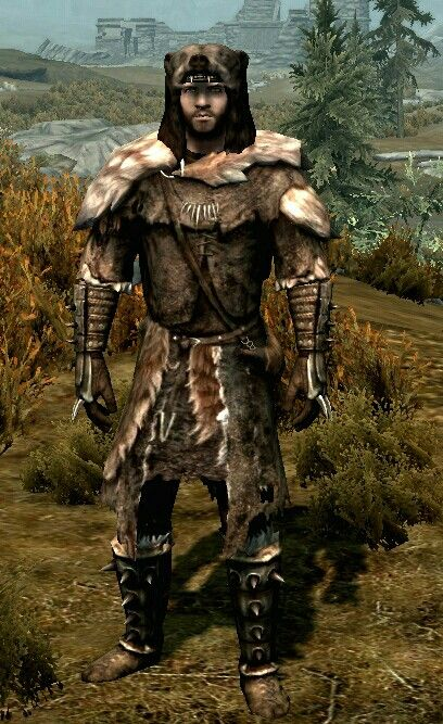 Fur Armor Two Handed Playthrough Questions Skyrim