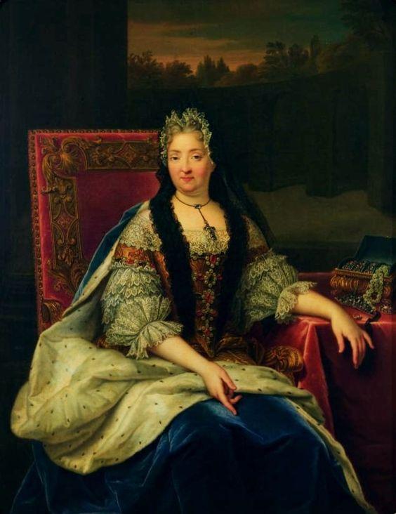 Dame Charlotte Éléonore de La Mothe-Houdancourt, 5ème. Duchesse de Ventadour, Marquise d'Annonay, Comtesse de La Voulte (1654-1744), Dame de la Duchesse d'Orléans et Gouvernante des Enfants de France.: