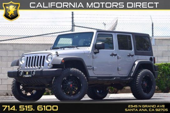 Sport Utility 2014 Jeep Wrangler Sport With 4 Door In Santa Ana
