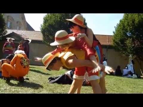 One Piece treffen auf der Connichi 2012.