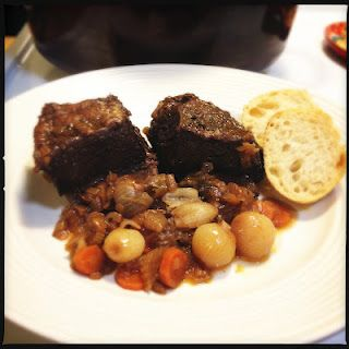 Braised Short Ribs with Red Wine.  Boo-yah!