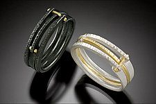 Inline Rings by Connie Ulrich (Gold & Silver Ring)