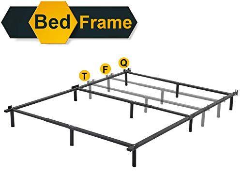 Queen Bed Frame Metal Platform Bed Frame Queen Size Mattress