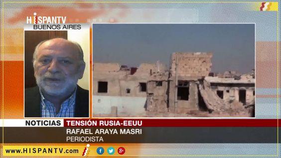 Hispantv: EEUU busca prolongar la guerra siria criticando a Rusia: https://t.co/9PEOgabmFP via YouTube