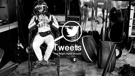Eight tweets from around the NASCAR Twitterverse