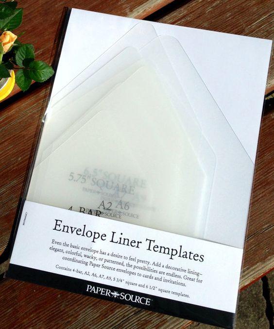 diy envelope liner template kit by darlingdesignco on etsy wedding diy pinterest diy and. Black Bedroom Furniture Sets. Home Design Ideas