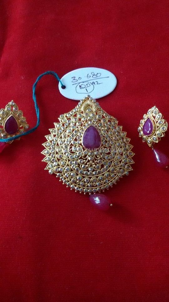 Simple stone pendant design mozeypictures Choice Image