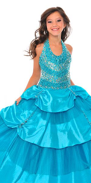 Girls Formal Dresses Clearance - Posh Angels Little Girls Pageant ...