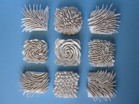 Ceramic Coral Ocean Tiles