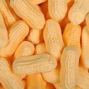 Circus Peanuts, i remember eating these with my Gpa...