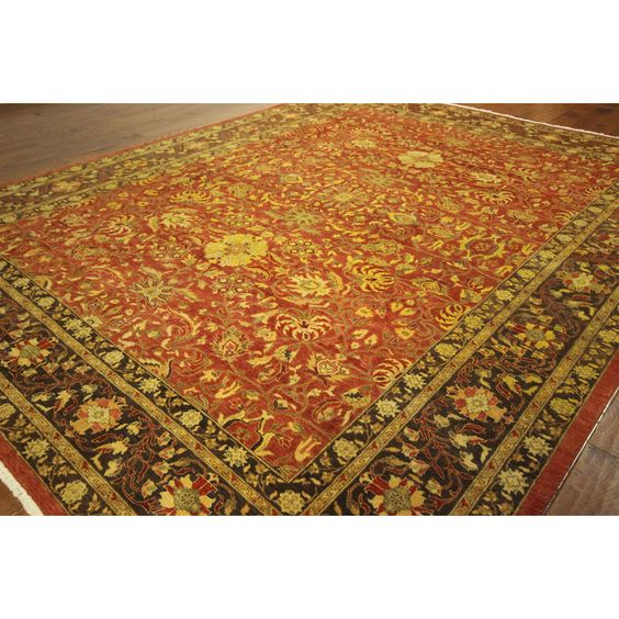 Manhattan New Morris Collection Rust Super Fine Chobi Area Rug