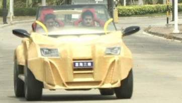 China Unveils Lightweight 3D-Printed Car