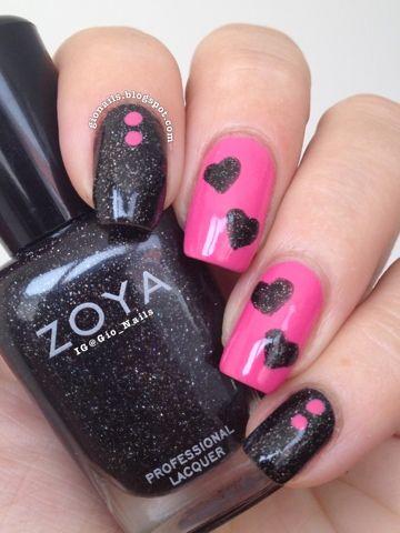 GioNails: Rose Cupcake - Bourjois + Storm - Zoya