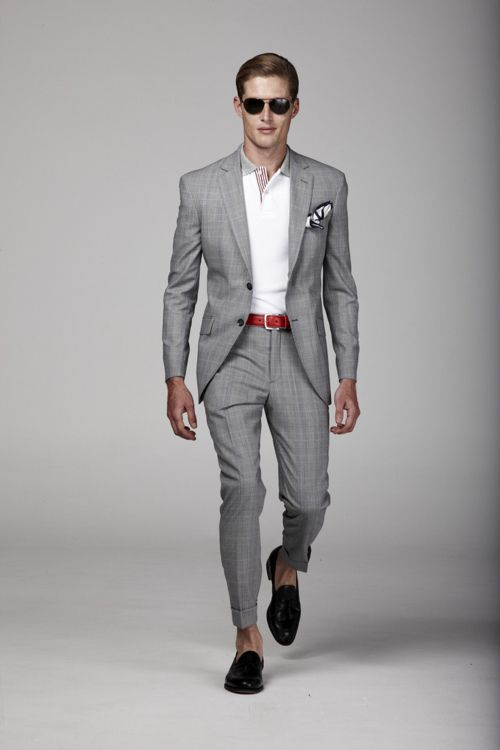 Summer cool| Grey suit combinations | Pinterest | Gray, Summer