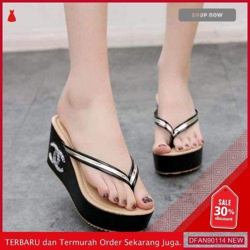 Jual Dfan90114d131 Sepatu N Sandal Dr58x0131 Wanita Wedges Terbaru