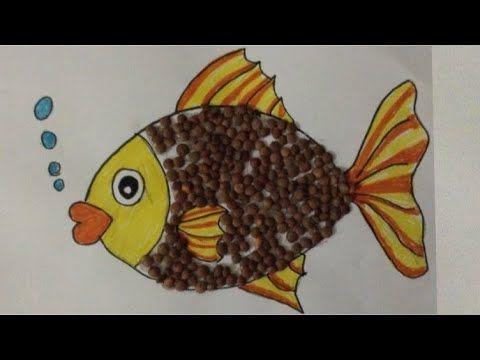 تعلم الرسم كيف ترسم سمكه بخطوات بسيطه للمبتدئين Youtube Tableware Plates