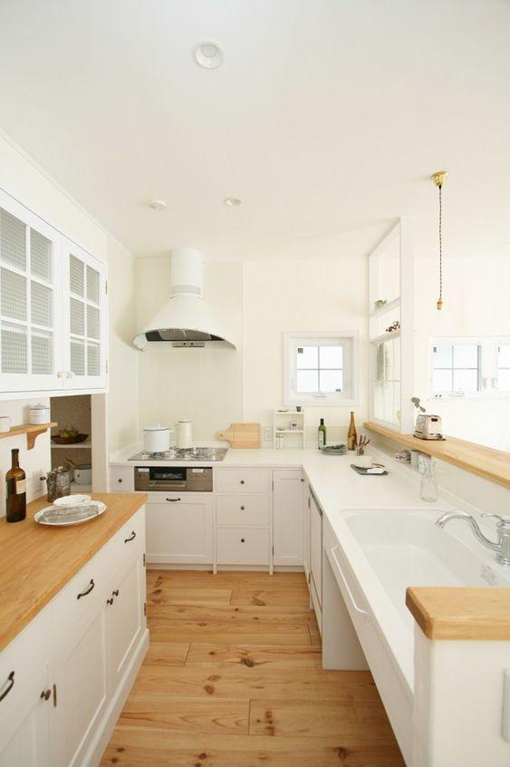キッチン  ~ L字型キッチン ~ ウエストビルドの大人気コンテンツ おしゃれな家のフォトギャラリー