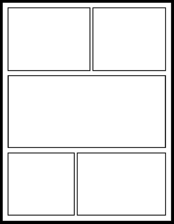 comic template for my comics unit school stuff pinterest activities creativity and literacy. Black Bedroom Furniture Sets. Home Design Ideas
