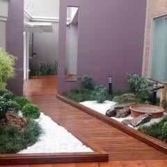 Projeto Paisagismo: Jardins Moderno por Borges Arquitetura & Paisagismo