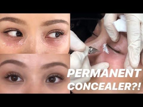 TRYING PERMANENT CONCEALER , YouTube