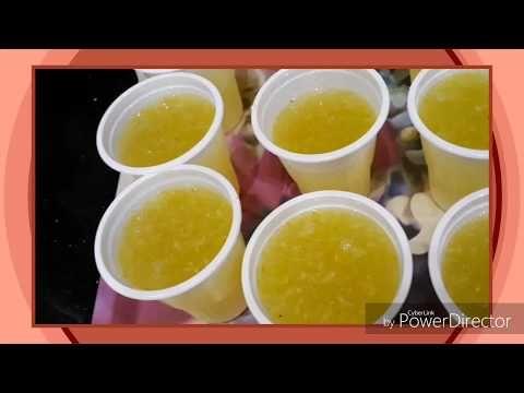 عصير ليمون مركز Jus De Citron Concentre Youtube Desserts Jus Pudding