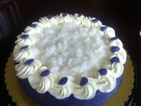 how to make macapuno ube cake