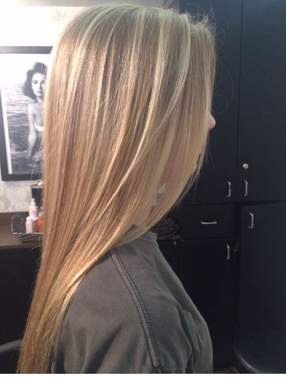 Honey Blonde Straight Hair Inspiring Ladies Straight Blonde Hair Blonde Hair With Highlights Straight Hair Highlights