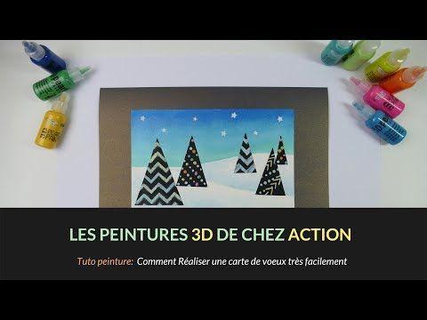 Tutoriel Francais 3d Pearl Paint De Chez Action Mon Avis Carte Facile A Faire Youtube Faire Des Cartes De Vœux Cartes Faciles Cartes De Voeux Faites Main