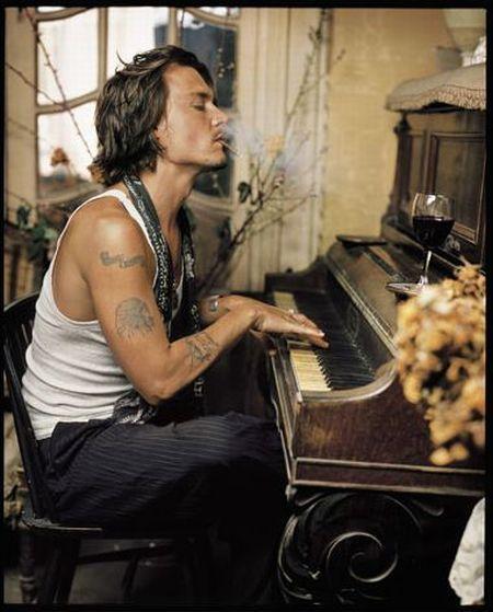 Mark Seliger photography.  Johnny Depp.