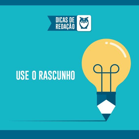Melhor alternativa para desenvolver seu texto e não arriscar na versão final! #estudos #dicas #redação #texto #estudos #concursos