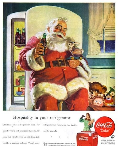 15 Vintage Christmas Advertisements (15 Pictures) > Design und so, Fashion / Lifestyle, Funny Shizznits, Netzkram > ads, campaigns, vintage, weihnachten, xmas