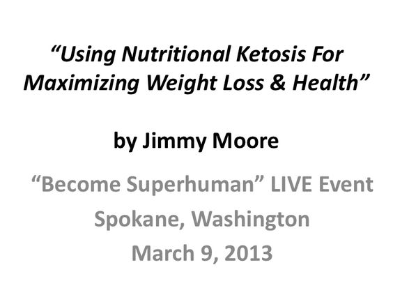 GREAT SLIDESHOW FOR THOSE LOOKING TO GO INTO NUTRITIONAL KETOSIS AND FOR PEOPLE WITH TYPE 2 DIABETES.