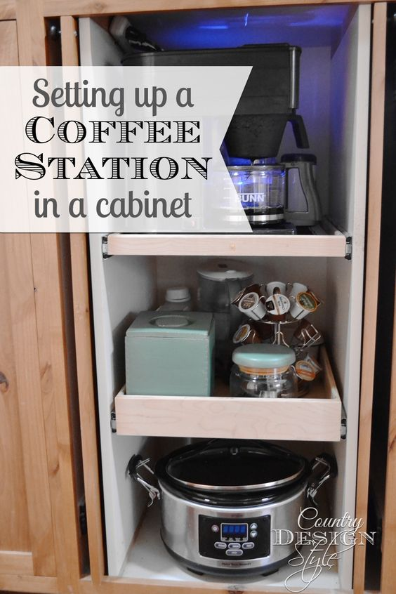 Pinterest the world s catalog of ideas for How to set up a coffee station