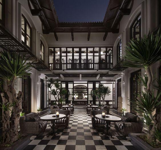 La Maison 1888 - Terrace. InterContinental Danang Sun Peninsula Resort | Danang,Vietnam