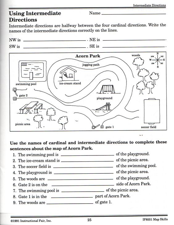 Printables Intermediate Directions Worksheet intermediate directions worksheet graphic design logos worksheet