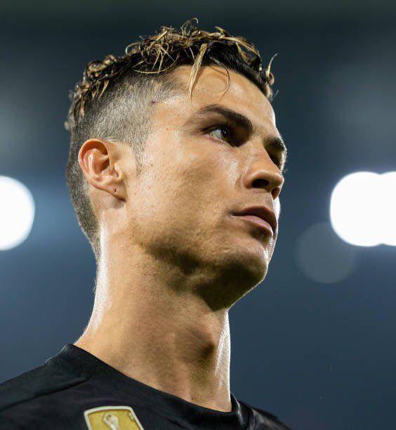 Cristiano Ronaldo Haircut Juventus