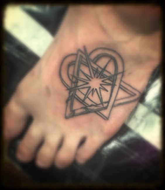 My own tattoo that i got a couple weeks ago it 39 s the for Adoption symbol tattoos
