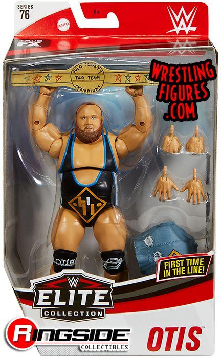 WWF WWE Elite Mattel Wrestling Figure Rare Edgeheads 3 In 1 Ringside New