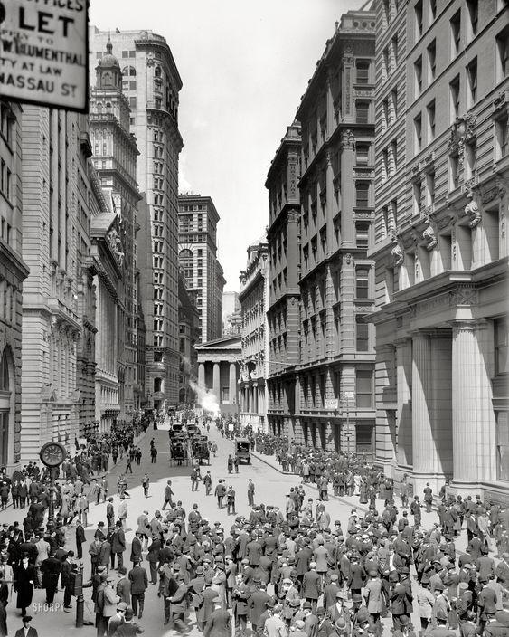 Lower Manhattan Circa 1906 Quot Broad Street And Curb Market
