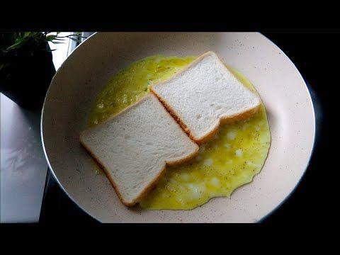 فطور صباحي لذيذ سهل وسريع طريقه رائعة لعمل التوست Youtube Aesthetic Food Food Breakfast