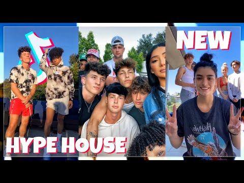 The Hype House New Tiktok Compilation Youtube Hype Youtube News