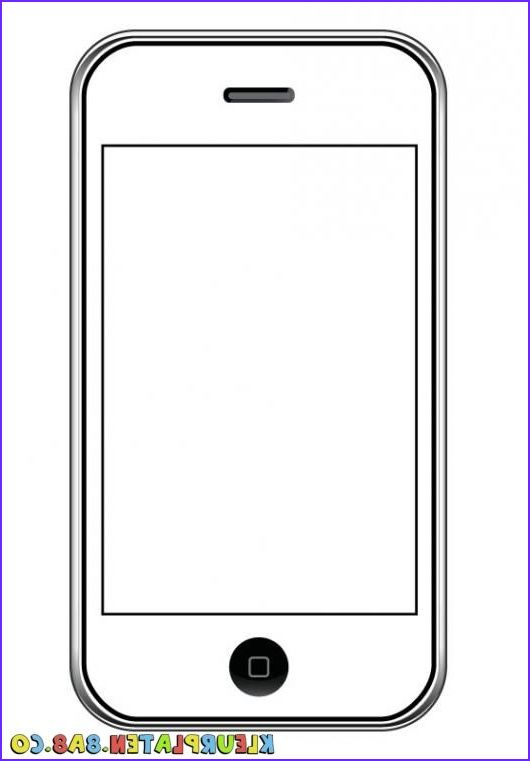 11 Cool Iphone Coloring Pages Collection Phone Art Art For Kids Phone